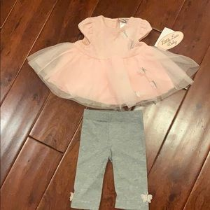 Brand new 9 month little girl outfit